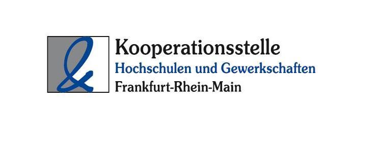 Logo Kooperationsstelle Hochschule und Gewerkschaft Frankfurt-Rhein-Main